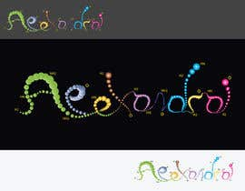 #35 for Design a Logo for the name ALEXANDRA af stamarazvan007