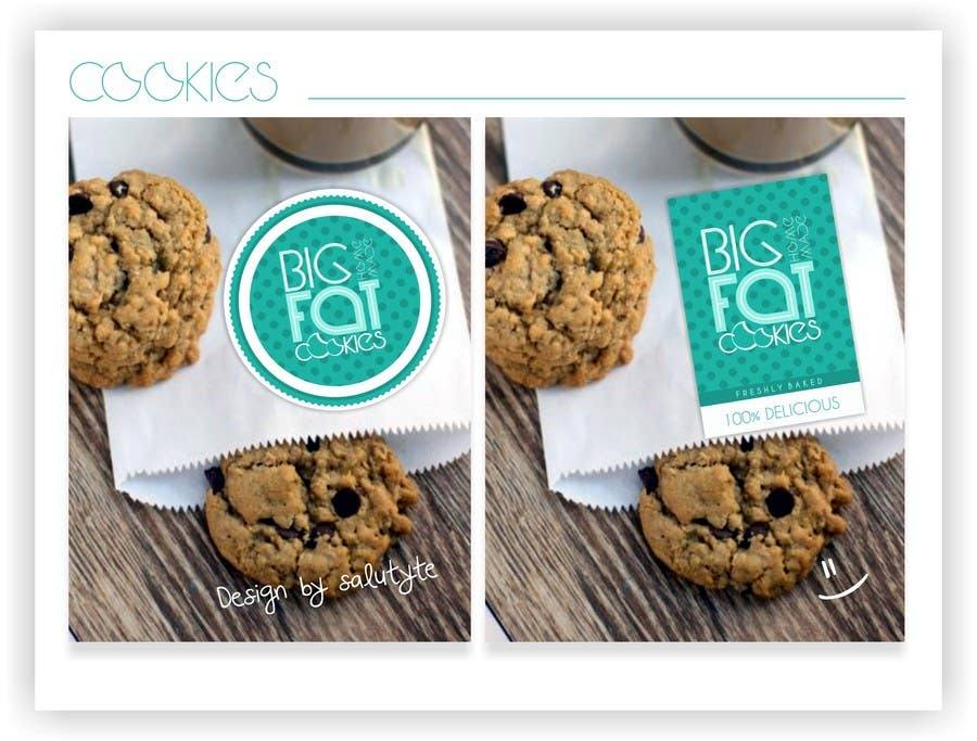 #97 for Design a Logo for Cookie Business CORRECTION: MAD COOKIES by salutyte