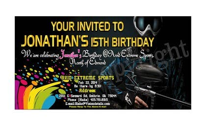 #50 for Design a Flyer for a birthday party by mahisahrifahmed