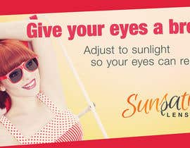 #26 para Design an Advertisement for Sunsation Lenses por thelincster