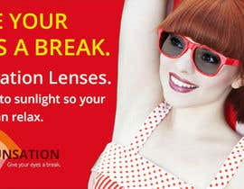 #1 for Design an Advertisement for Sunsation Lenses by dezcreation