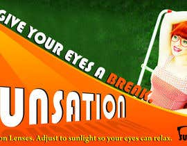 #23 para Design an Advertisement for Sunsation Lenses por marinza