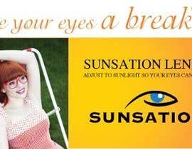 #38 for Design an Advertisement for Sunsation Lenses by amcgabeykoon