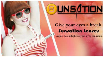 #11 para Design an Advertisement for Sunsation Lenses por akritidas21