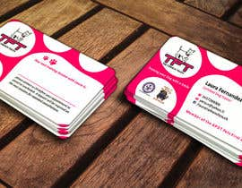 ezesol tarafından Design some Business Cards for a dog training business için no 21