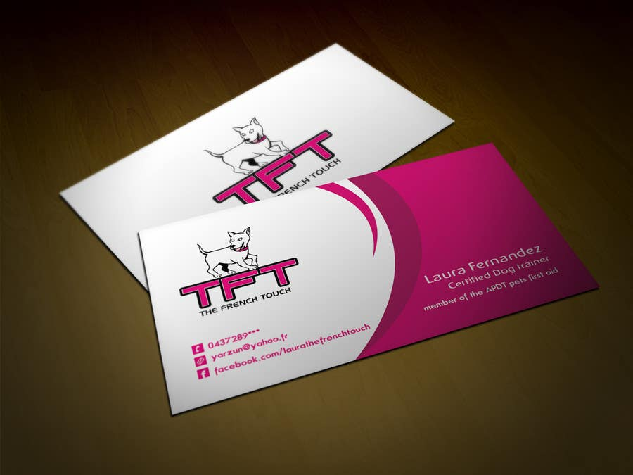 Entry #105 by tahira11 for Design some Business Cards for a dog ...