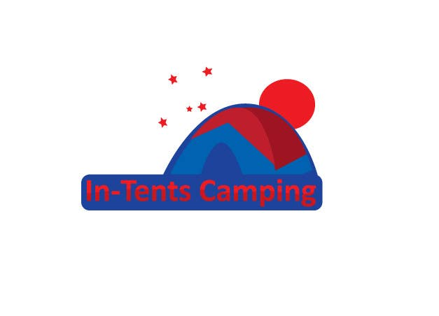 Proposition n°                                        26                                      du concours                                         Logo Design for In-Tents Camping