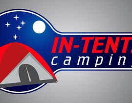 nº 64 pour Logo Design for In-Tents Camping par Oxigen66