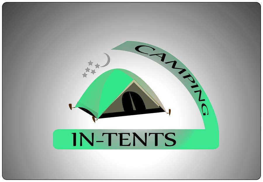 Proposition n°                                        105                                      du concours                                         Logo Design for In-Tents Camping