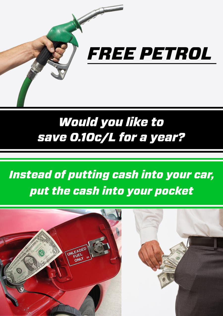 #18 for Free Petrol by pointlesspixels