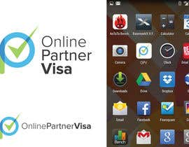 Nro 75 kilpailuun Design a Logo for Online Partner Visa käyttäjältä akshaydesai