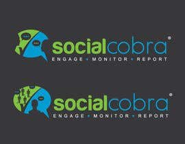 #133 for Design a Logo for Social Cobra by GeorgeOrf