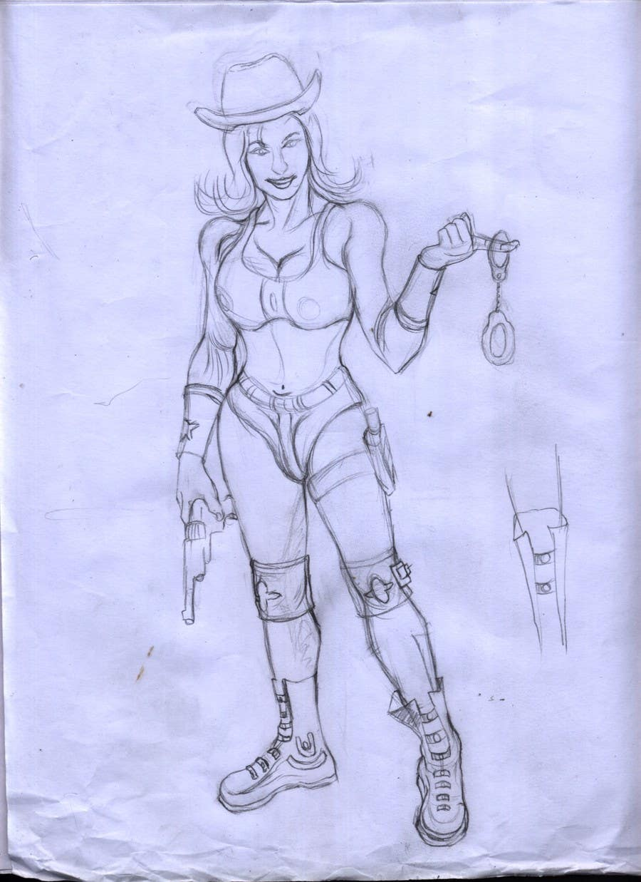 #6 for Create 2 Gunman Characters — Female & Male by mainulislam85