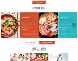 styleworksstudio tarafından Design a website (MadeMeals.nl) için no 70