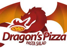 #9 untuk Develop a new logo for Dragon's Pizza oleh romandziemianko