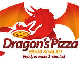 #30 untuk Develop a new logo for Dragon's Pizza oleh romandziemianko