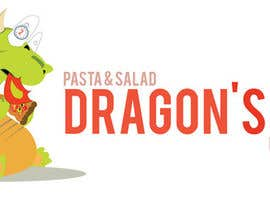 #6 untuk Develop a new logo for Dragon's Pizza oleh asyraf3ffendy