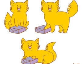 McSP tarafından Illustrate 2D Cat/Kitten for our Chinese Shopping Site's Video Animation için no 5