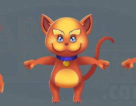 #8 para Illustrate 2D Cat/Kitten for our Chinese Shopping Site's Video Animation por ARXdesignsDOTcom