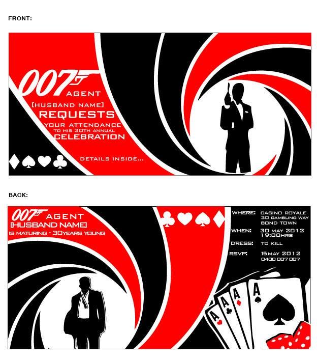 Inscrição nº                                         54                                      do Concurso para                                         Graphic Design for Birthday Party Invitation