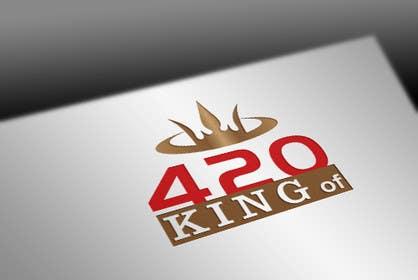 nº 15 pour Design the best logo for Kingof420 par pvcomp