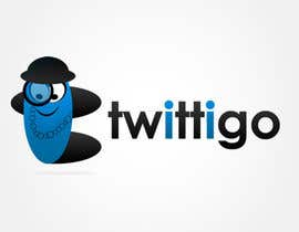 #162 cho Logo Design for twittigo, a touristical and guide service bởi UnivDesigners