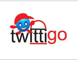 #193 untuk Logo Design for twittigo, a touristical and guide service oleh anjaliom