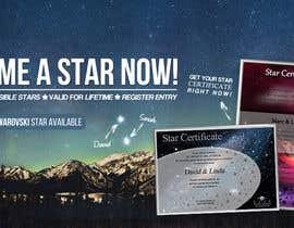 Nro 84 kilpailuun Design a Banner for Star-Registration.com käyttäjältä ClaudiuTrusca