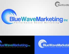 #38 untuk Design a Logo for Blue Wave Marketing Inc oleh ChrisOlah