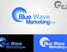 #56 untuk Design a Logo for Blue Wave Marketing Inc oleh ChrisOlah