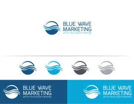#33 untuk Design a Logo for Blue Wave Marketing Inc oleh Deezastarr