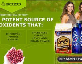 nº 33 pour Create a website header for HealthyGiftIdea.com (healthy drink) par kosmografic