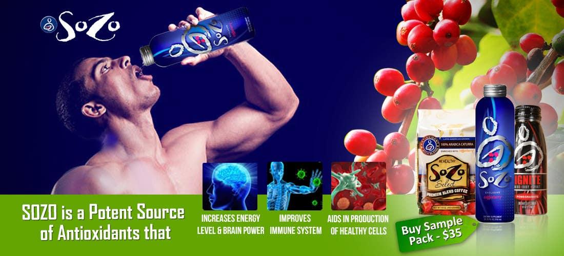 #66 for Create a website header for HealthyGiftIdea.com (healthy drink) by isrijanbamrel