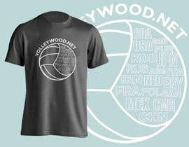 jiamun tarafından Design A Volleyball T-Shirt için no 9