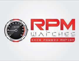 nº 115 pour Design a Logo for RPM watches par dannnnny85