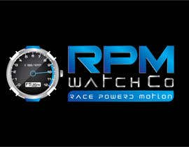 nº 155 pour Design a Logo for RPM watches par dannnnny85