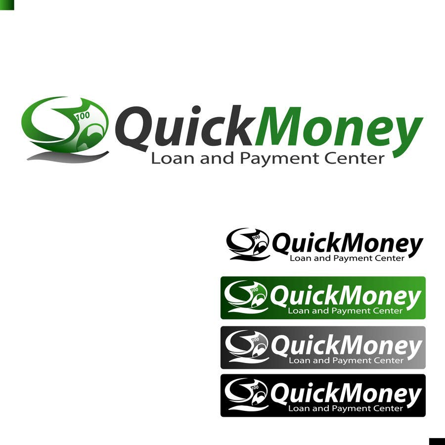 #70 for Design a logo for QuickMoney Loan and Payment Center by dandrexrival07