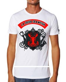 ozafebri tarafından Design a cool crawfish için no 2