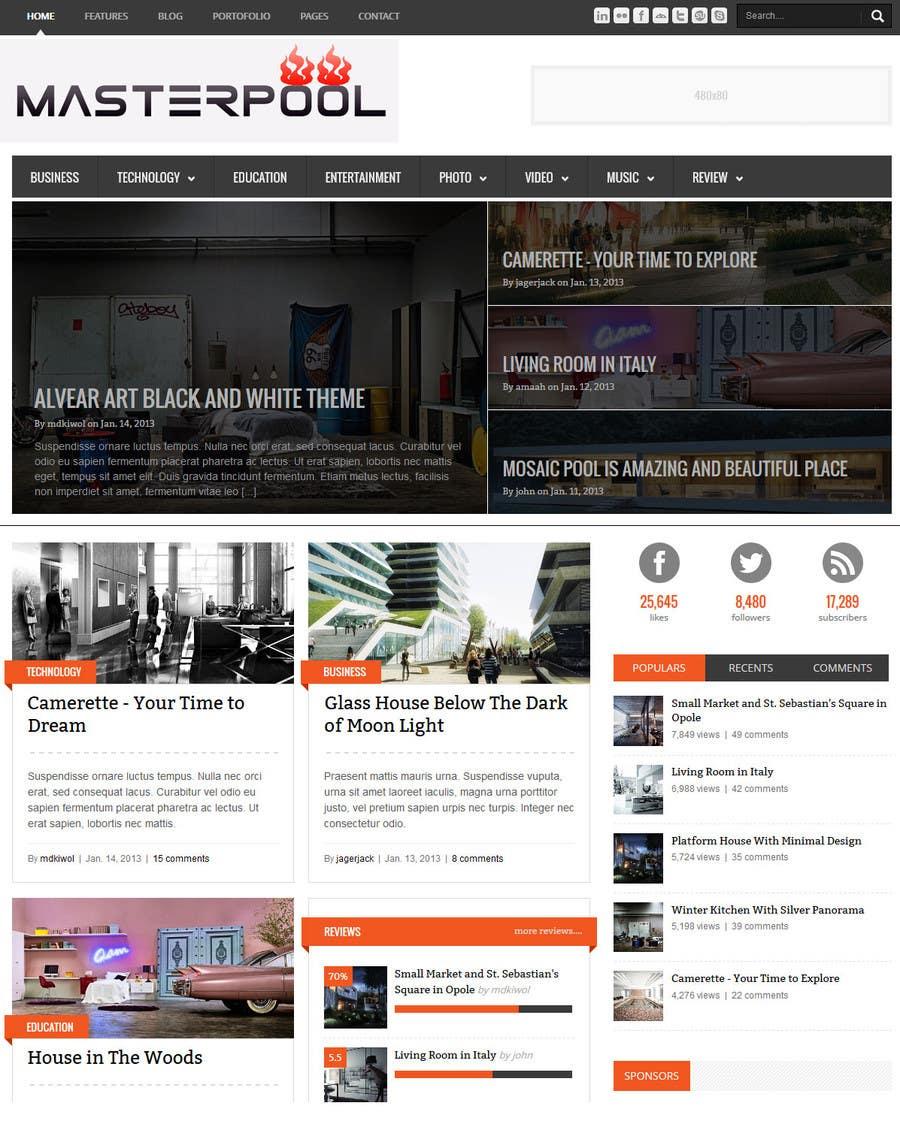 #13 for Simple website + logo design by preyas0007