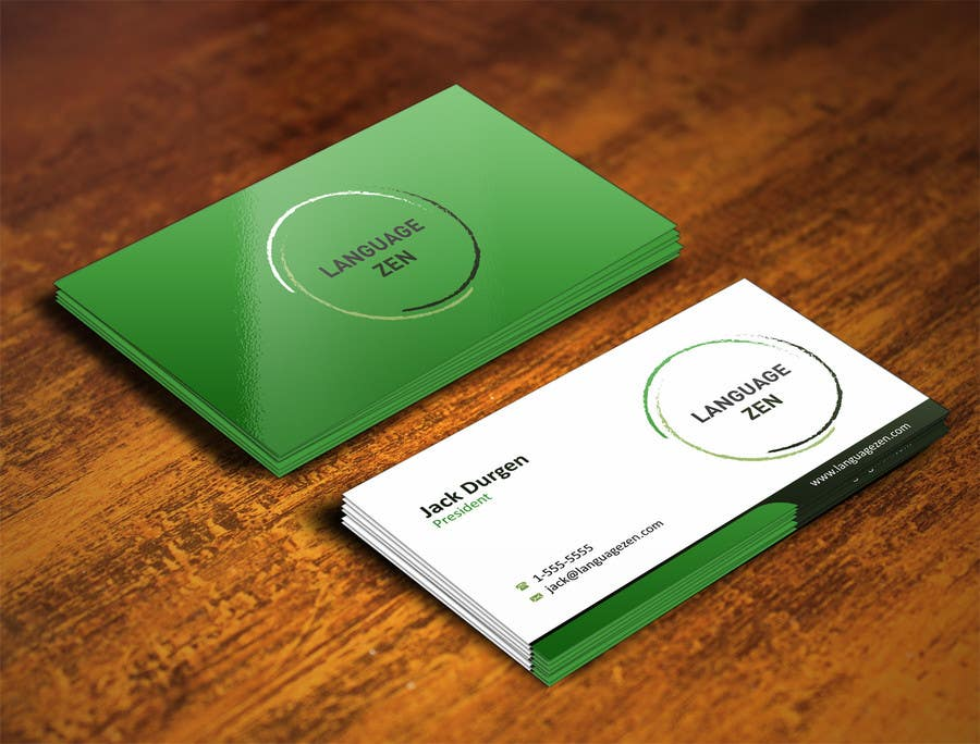 #40 for Design some Business Cards by ezesol