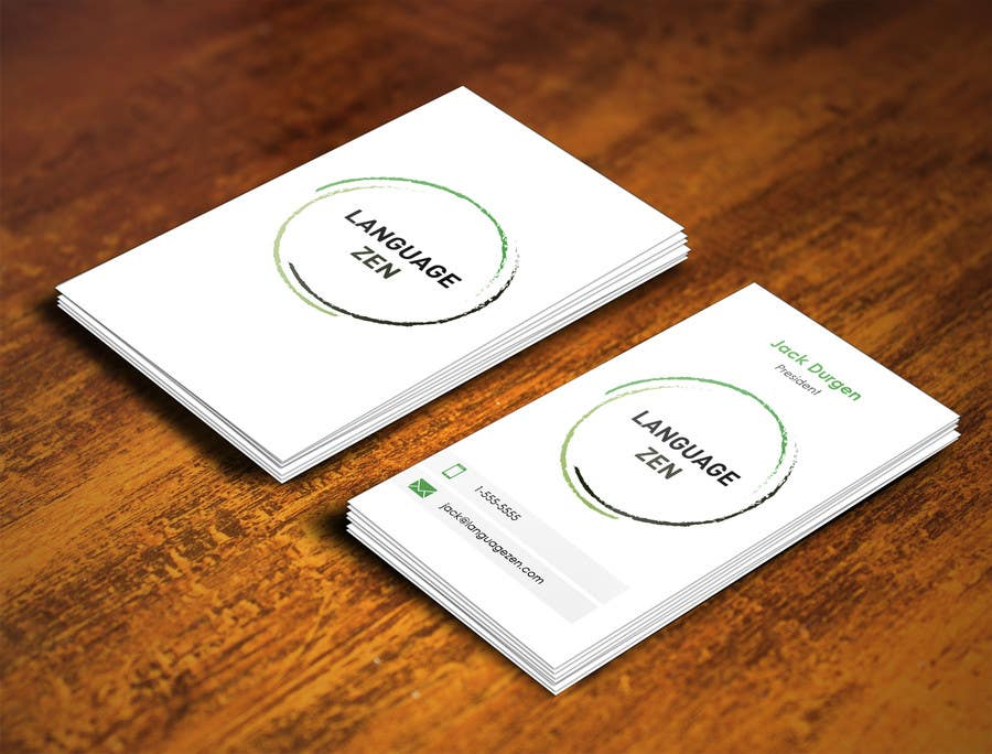 #26 for Design some Business Cards by pointlesspixels