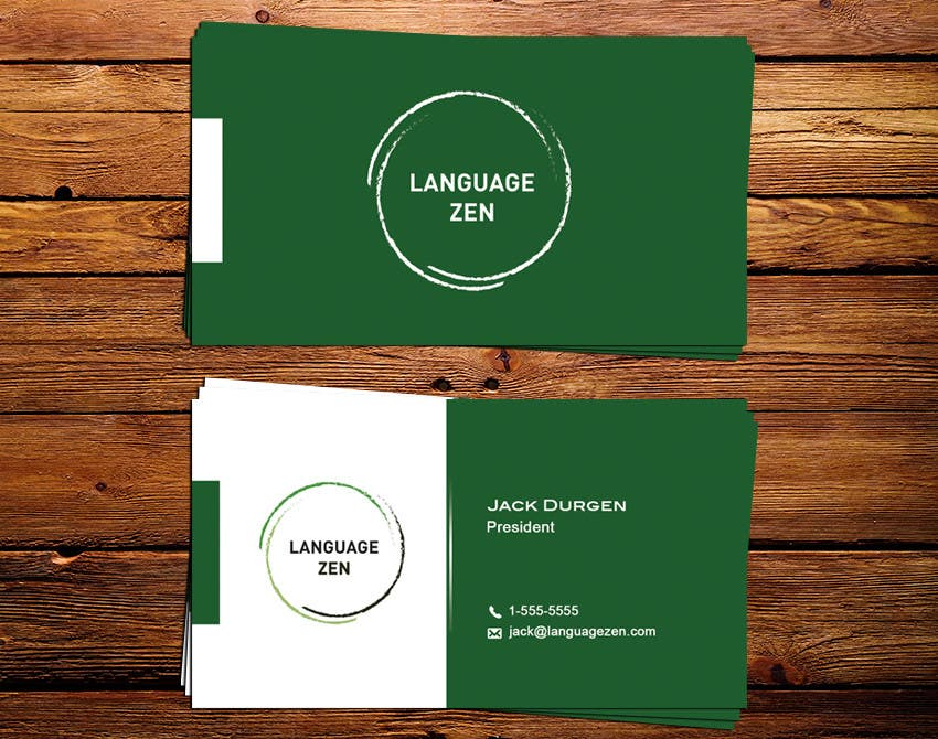 #46 for Design some Business Cards by IllusionG