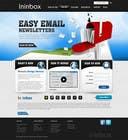 Graphic Design Contest Entry #37 for Website Design for ininbox.com