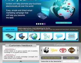 #36 untuk Website Design for ininbox.com oleh VlakDesigns