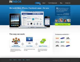 #3 for Website Design for ininbox.com af wwwebtech