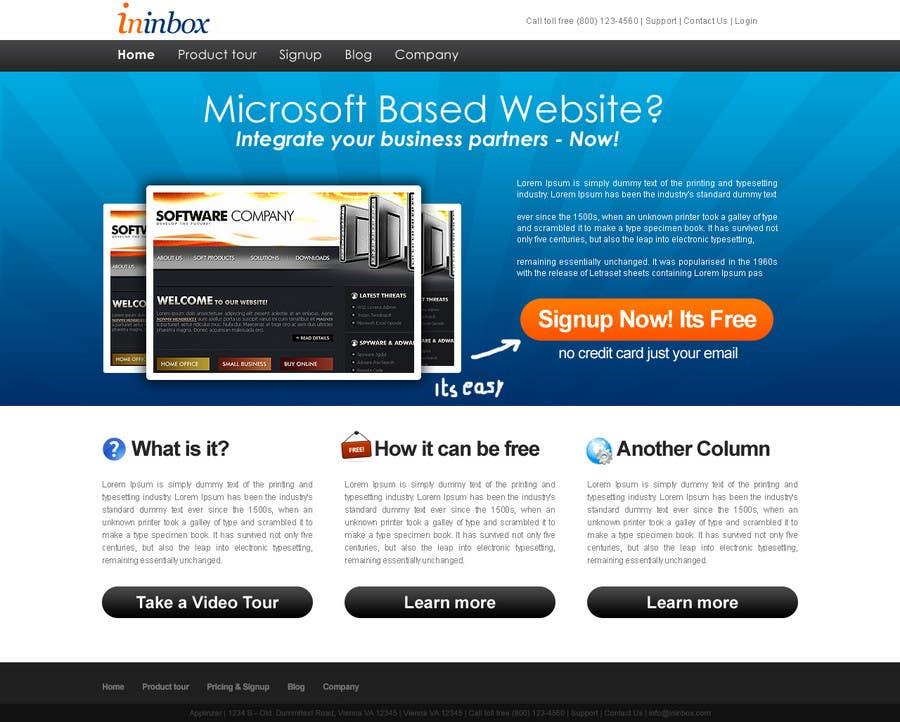 Penyertaan Peraduan #                                        7                                      untuk                                         Website Design for ininbox.com
