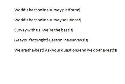 #198 for Write a tag line/slogan for an online survey company by conceptapostrof