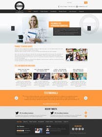 #7 for Design a Website Mockup for educational body... by kreativeminds