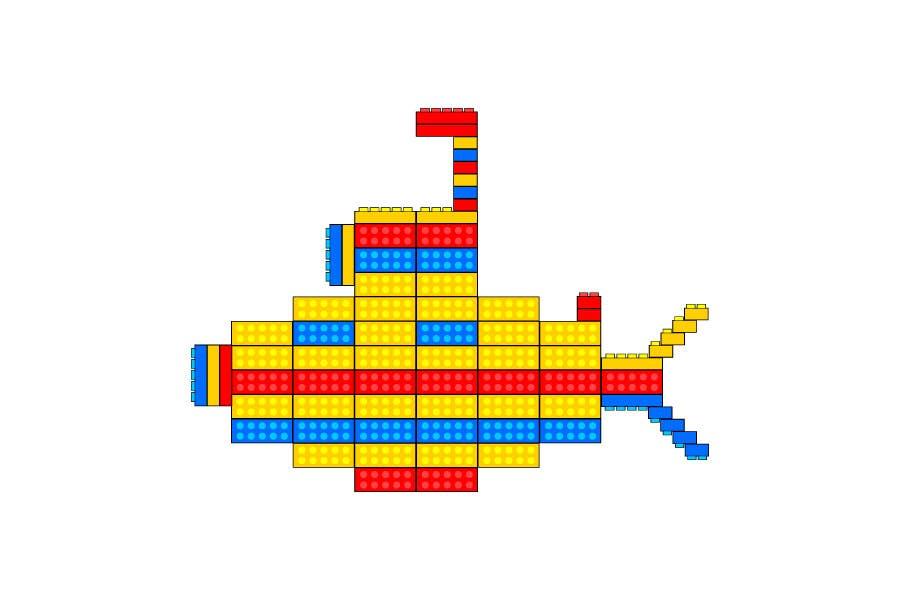 Inscrição nº 14 do Concurso para Lego Submarine Graphic Design 2D