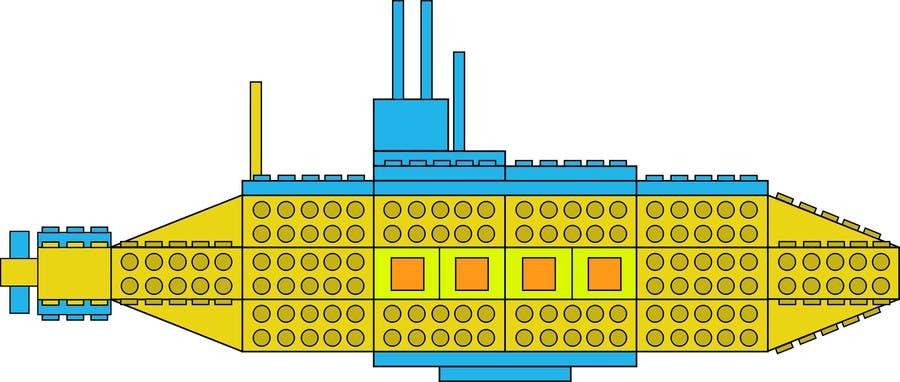 Inscrição nº 7 do Concurso para Lego Submarine Graphic Design 2D